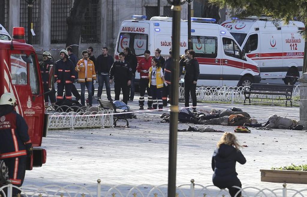 Теракт в Турции 12.01.2016: сегодня в Стамбуле произошел взрыв