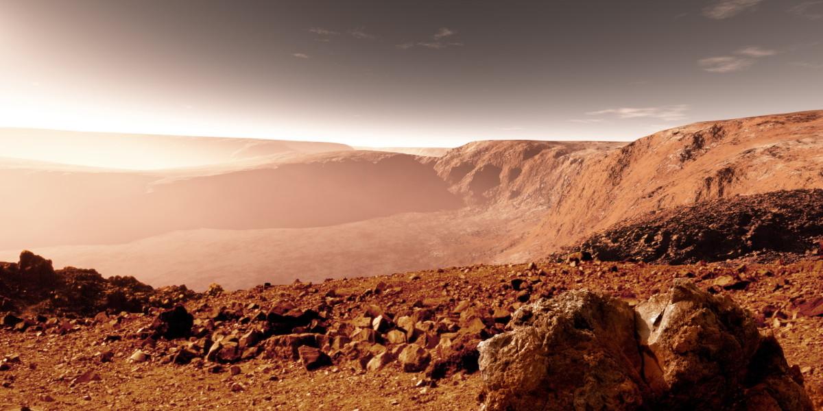 Ось Марса изменили древние вулканы