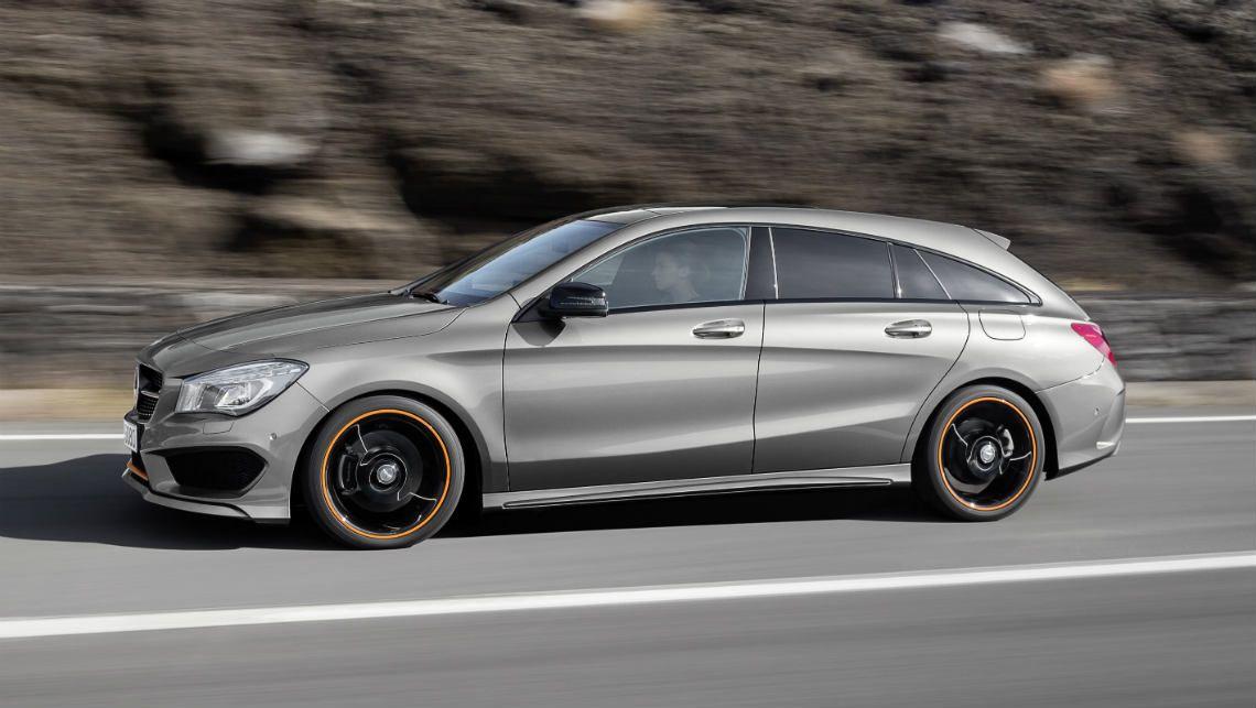Mercedes-Benz CLA Shooting Brake 2016 готовится выехать на большие рынки