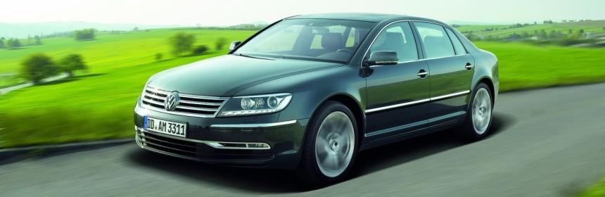 Volkswagen Phaeton снят с производства