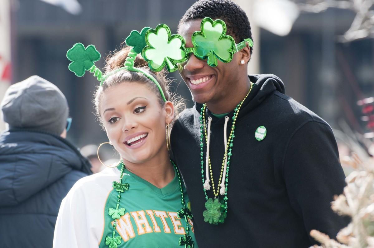Ирландцы отметили День Святого Патрика