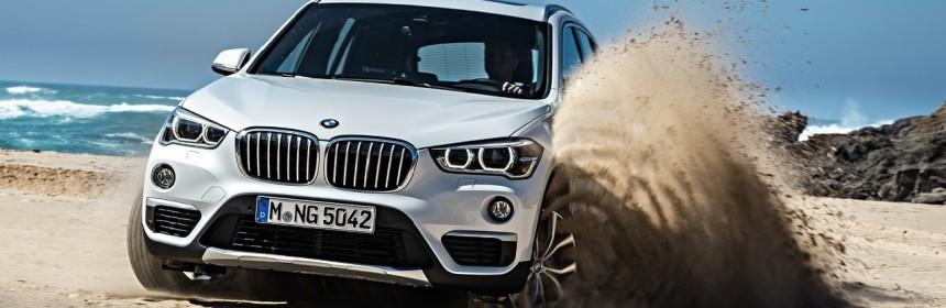 Гибридная версия BMW X1 2016