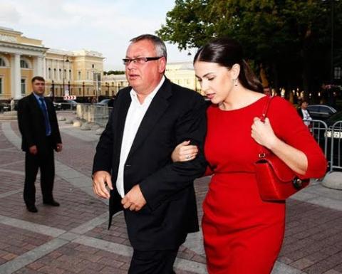 Наиля Аскер-заде и Андрей Костин