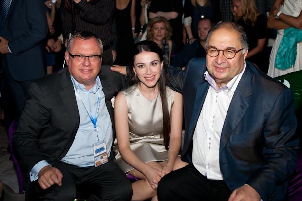 Андрей Костин и любовница Наиля Аскер-заде